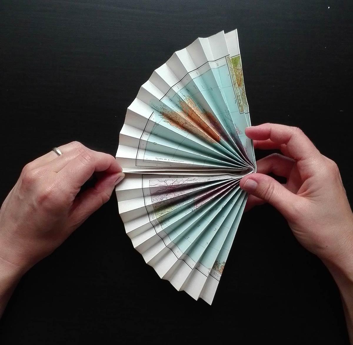 tutorial ventagli di carta